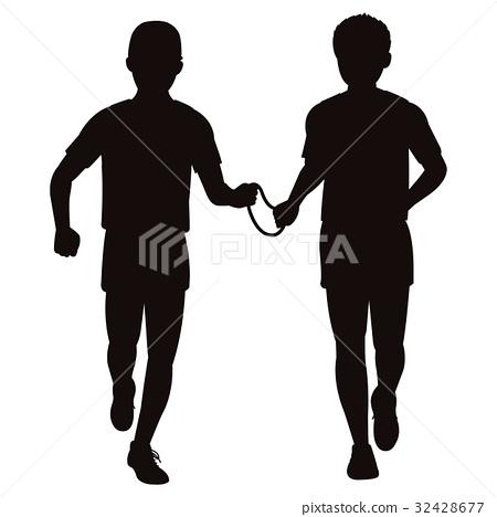 Marathon silhouette for the blind 32428677