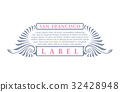 retro, label, vintage 32428948