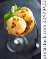 Passion Fruit Ice Cream 32429422