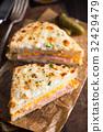 Croqu Monsieur Sandwich Dinner  32429479