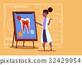 Female African American Doctor Dentist Looking At 32429954