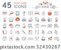 圖標 食物 食品 32430267