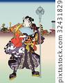 Utagawa Toyokuni神田Omijin禮物節日圖像例證 32431829