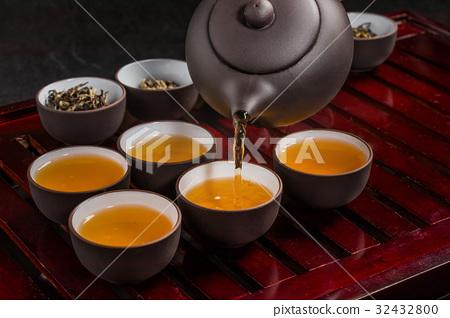 中國茶具有歷史的中國茶 32432800