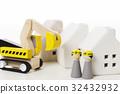 built, constructing, blue collar worker 32432932