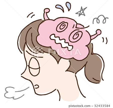 大腦的壓力和疲勞 32433584