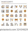 Railway Elements   32434629