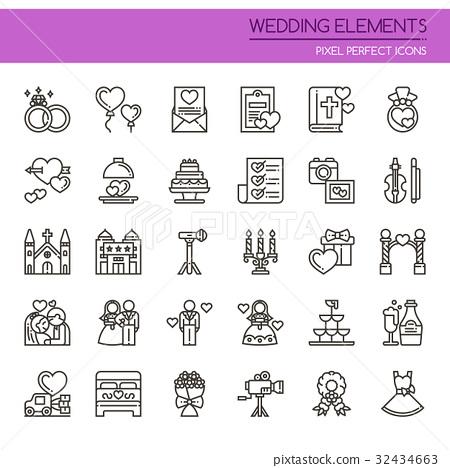 Wedding Elements   32434663