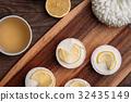 Lemon cupcakes for Easter brunch 32435149