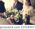 bride, friends, groom 32438467