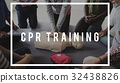 CPR Training Demonstration Class Emergency Life Rescue 32438826