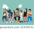 Group of students educated child development 32439531