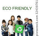 Eco Friendly Responsibility Nature Environment Word 32439761
