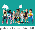 Group of students educated child development 32440308