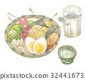 关东煮 锅里煮好的食物 用锅烹饪 32441673