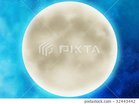 月亮 月 满月 32443442