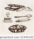 麵包房 向量 向量圖 32446102