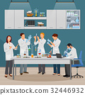 Science And Laboratory Illustration  32446932