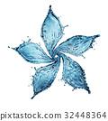 flower made of water splash 32448364