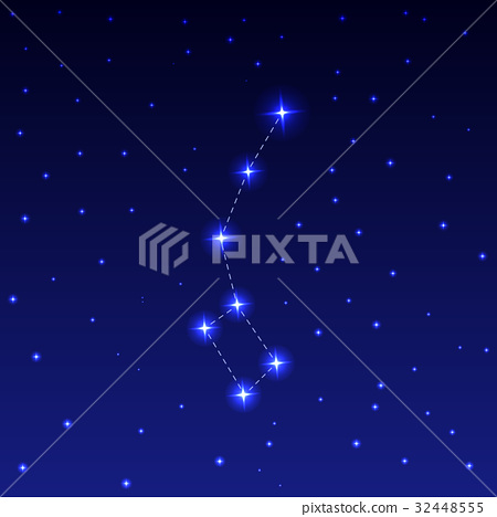 Constellation Ursa Minor 32448555