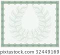 certificate, background, laurel 32449169