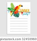 birthday, summer, card 32450960