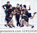 retro, dancer, studio 32452439