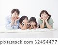 가족, 패밀리, 4명 32454477