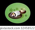 大福 绿茶 日式甜点 32456522