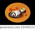 大福 绿茶 日式甜点 32456523