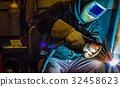 welder steel spark 32458623