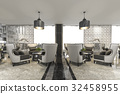 reception luxury restaurant 32458955