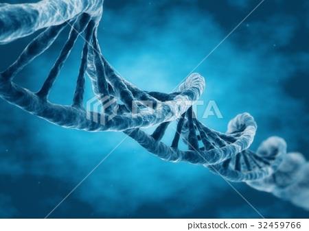 3D Rendering DNA strand 32459766