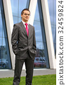 Young and handsome businessman in formal clothes 32459824