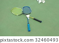 badminton ball paddle 32460493