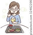 균형 잡힌 식사 32462206