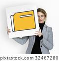 Folder Data Information File Organize Graphic 32467280