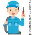 電工 電力工人 工服 32469461