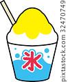 刨冰 冰 檸檬 32470749