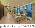 luxury modern living room interior and decoration 32471178
