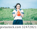 高中生 少女 女生 32472821