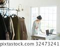 일하는 여성 (의류) 32473241