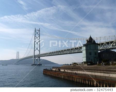 Akashi Kaikyo Bridge and Historic Buildings 32475443
