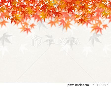 感覺總和的插圖(秋葉,日本紙) 32477897