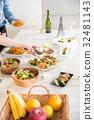 홈 파티, 파티, 요리 32481143