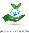 房屋 房子 商标 32489580