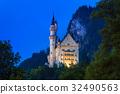 城堡 新天鵝堡 建築 32490563