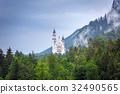 Neuschwanstein Castle in Bavarian Alps, Germany 32490565