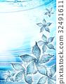 flower made of water splash 32491611