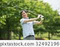 골프, 골퍼, 중년 32492196
